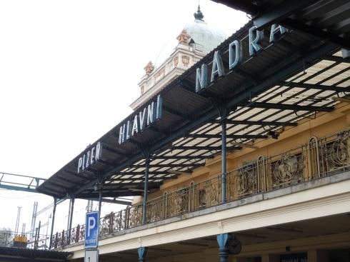 Train station in Pilsen