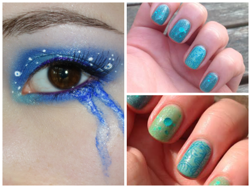 mermaid collage 2