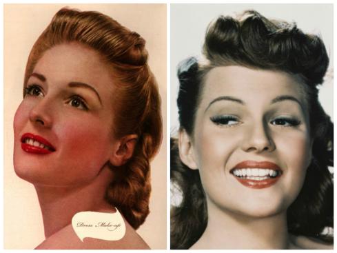 1940s inspo collage