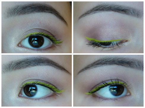 green liner collage