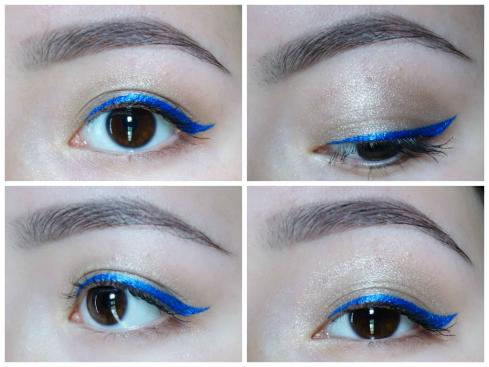 blue liner collage