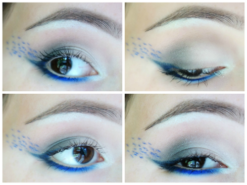 cas makeup collage