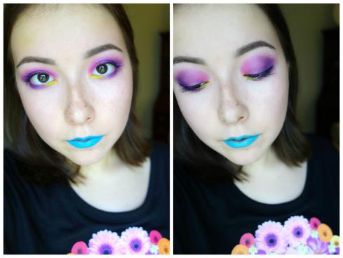 neon skull collage 3
