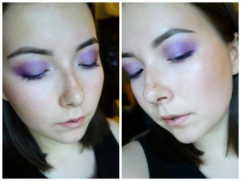 violet collage 3